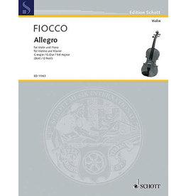 Hal Leonard Fiocco - Allegro for Violin and Piano