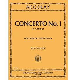 International Accolay Concerto No.1 in A minor for violin