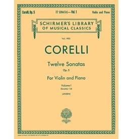 Hal Leonard Corelli - Twelve Sonatas, Op. 5 - Volume 1 Violin and Piano (Jensen) String Solo