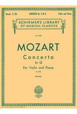 Hal Leonard Mozart - Concerto No. 3 in G, K.216 Score and Parts (Franko) String Solo