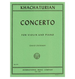 International Khachaturian Concerto for Violin and Piano