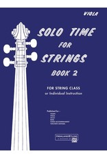 Alfred Solo Time for Strings, Book 2