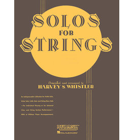 Hal Leonard Solos For Strings - Viola Solo (First Position) arr. Harvey S. Whistler Rubank Solo Collection