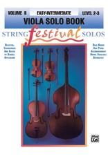 Alfred String Festival Solos, Volume II Viola