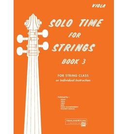 Alfred Solo Time for Strings, Book 3