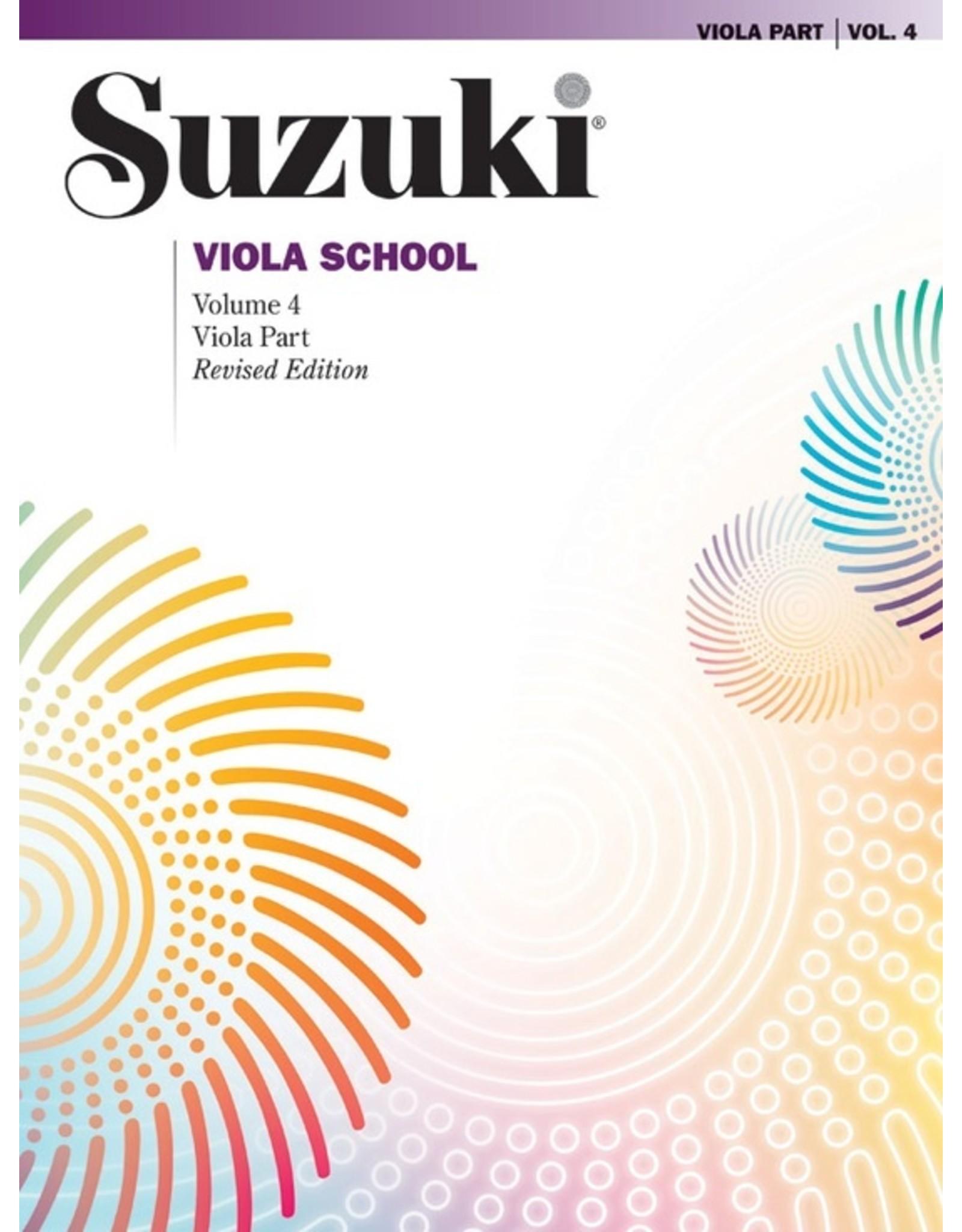 Alfred Suzuki Viola School Viola Part, Volume 4