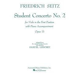 Hal Leonard Seitz - Student Concerto No. 2 Viola and Piano (Lifschey) String Solo