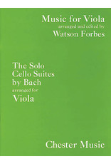Hal Leonard Bach - The Solo Cello Suites Music for Viola Series arr. Watson Forbes Music for Viola Series Music Sales America