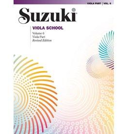 Alfred Suzuki Viola School Viola Part, Volume 6 (Revised)