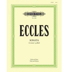 Edition Peters Eccles Sonata in G Minor - Viola/Piano