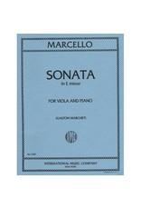 International Marcello Sonata in E Minor - Viola/Piano