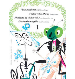 Hal Leonard Violoncello Music for Beginners - Volume 1 (Lengyel, Pejtsik) EMB
