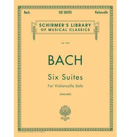 Hal Leonard Bach - 6 Suites Cello Solo (Gaillard) String Solo