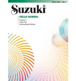 Alfred Suzuki Cello School Cello Part, Volume 05 (Revised)