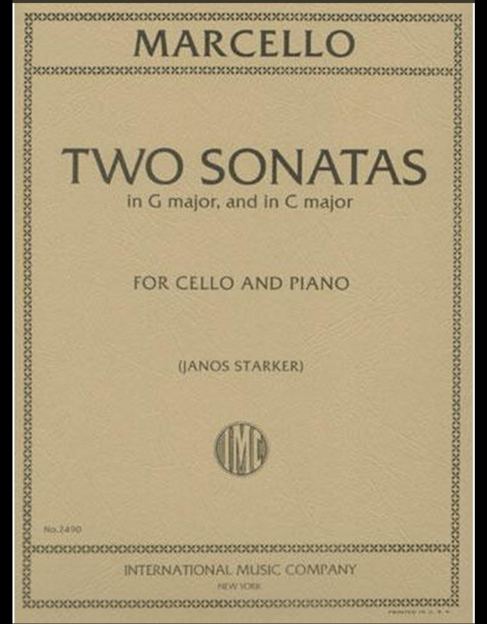 International Marcello - 2 Sonatas (C Major and G Major) for Cello and Piano