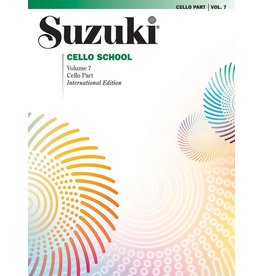 Alfred Suzuki Cello School Cello Part, Volume 07 (Revised)