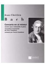 Hal Leonard J.C. Bach - Concerto in C Minor Score and Parts (Casadesus) String Solo