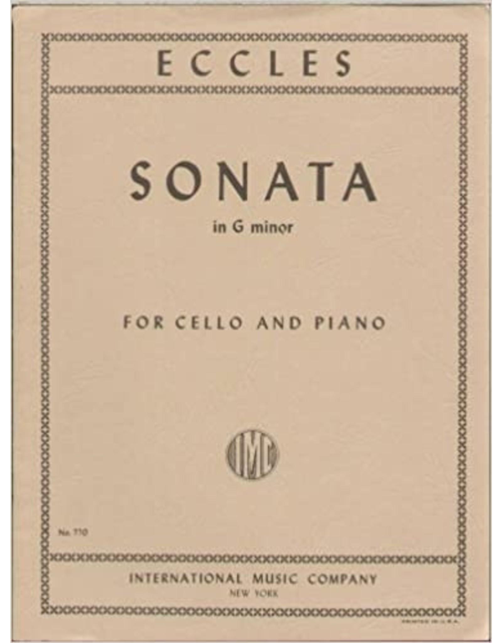 International Eccles Sonata in G Minor - Cello