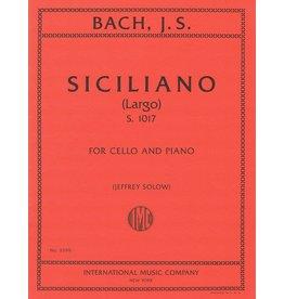 International Bach Siciliano S.1017 - Cello