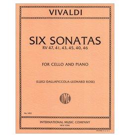 International Vivaldi Six Sonatas for Cello