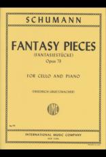 International Schumann Fantasy Pieces (Fantasiestücke) Op.73 - Cello