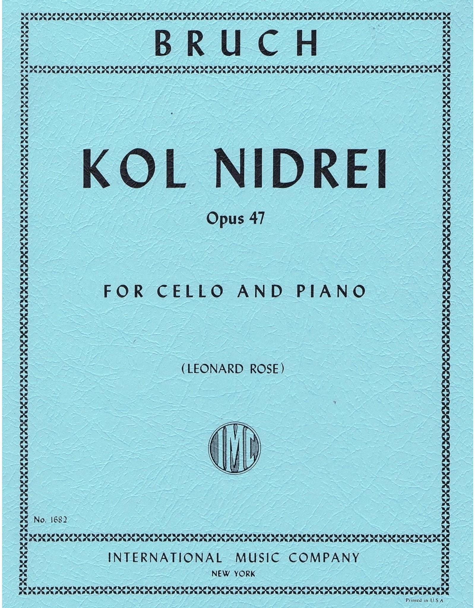 International Bruch Kol Nidrei Op.47 - Cello