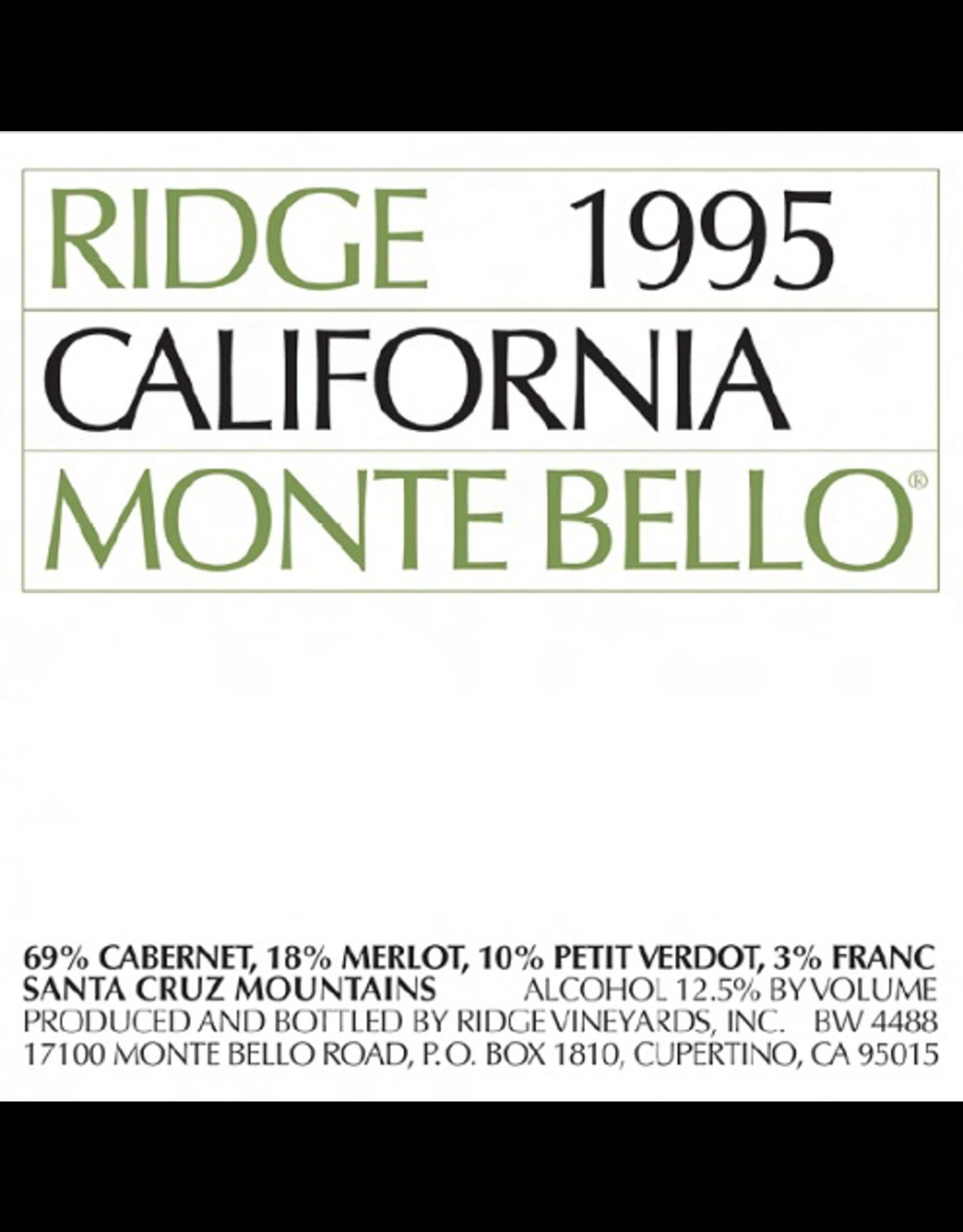 Ridge Monte Bello, Santa Cruz Mountains 1995
