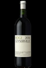 Ridge Geyserville Alexander Valley Zinfandel 2014