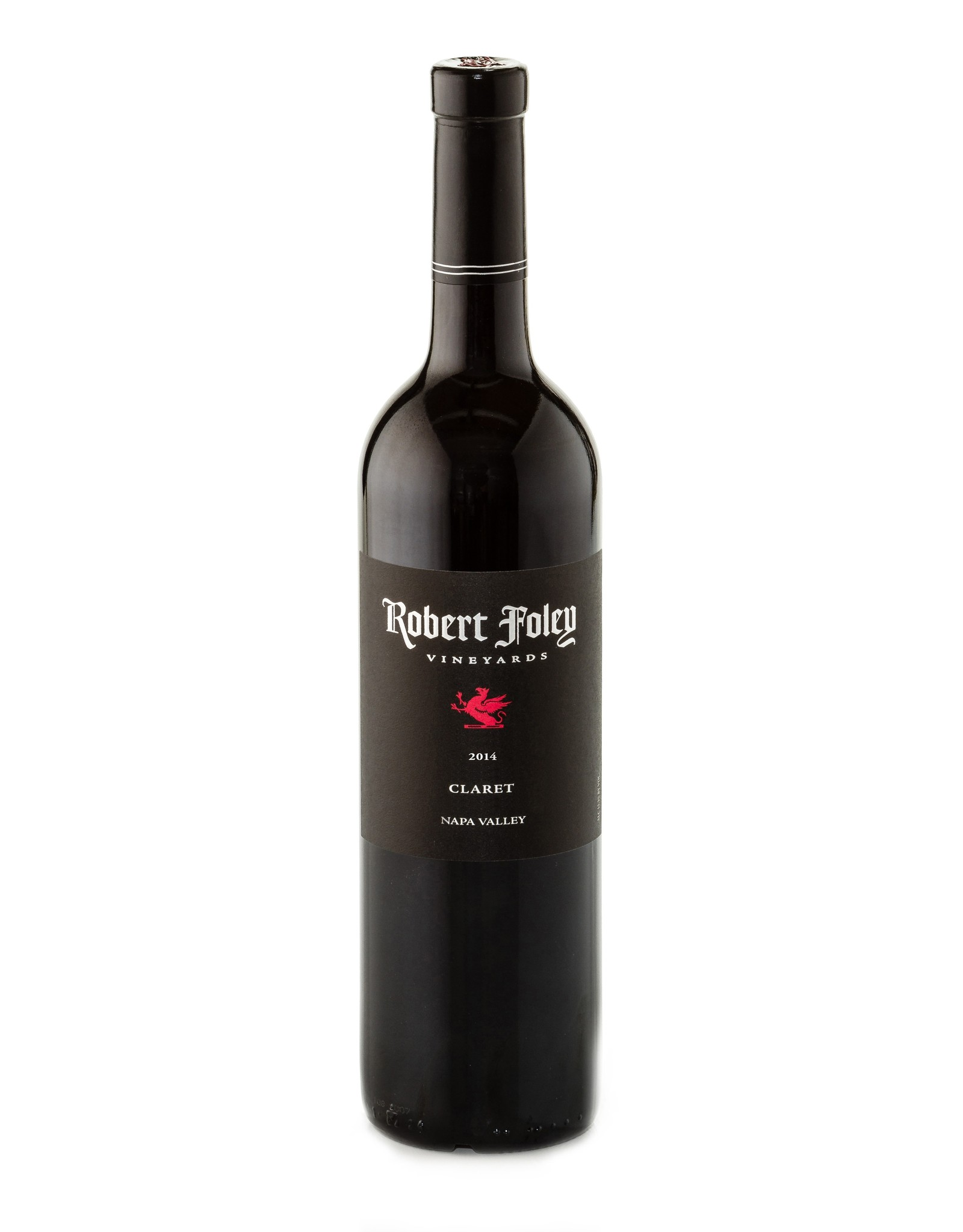 Robert Foley Vineyards Claret Napa 2014