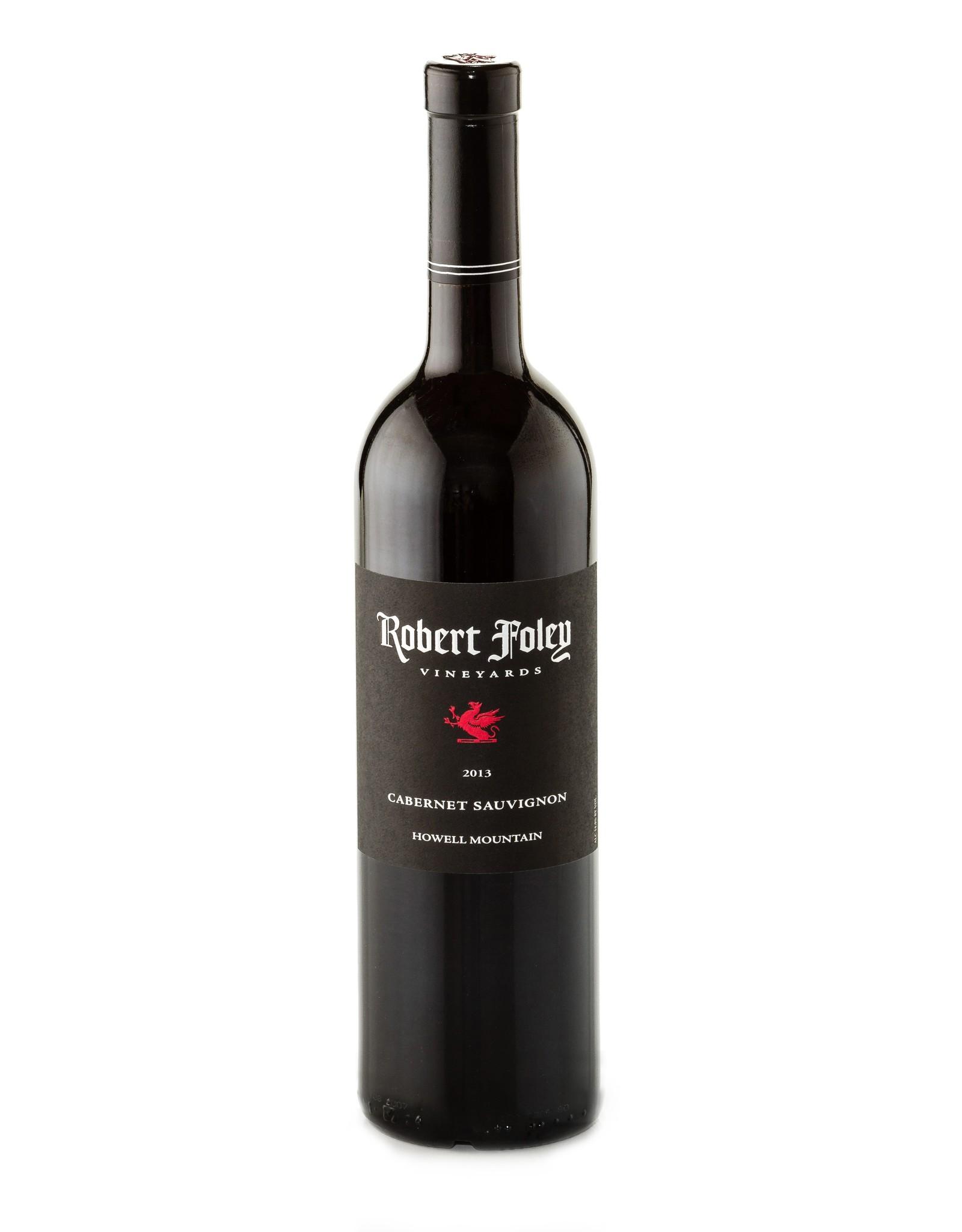 Robert Foley Vineyards Cabernet Sauvignon, Howell Mountain 2013