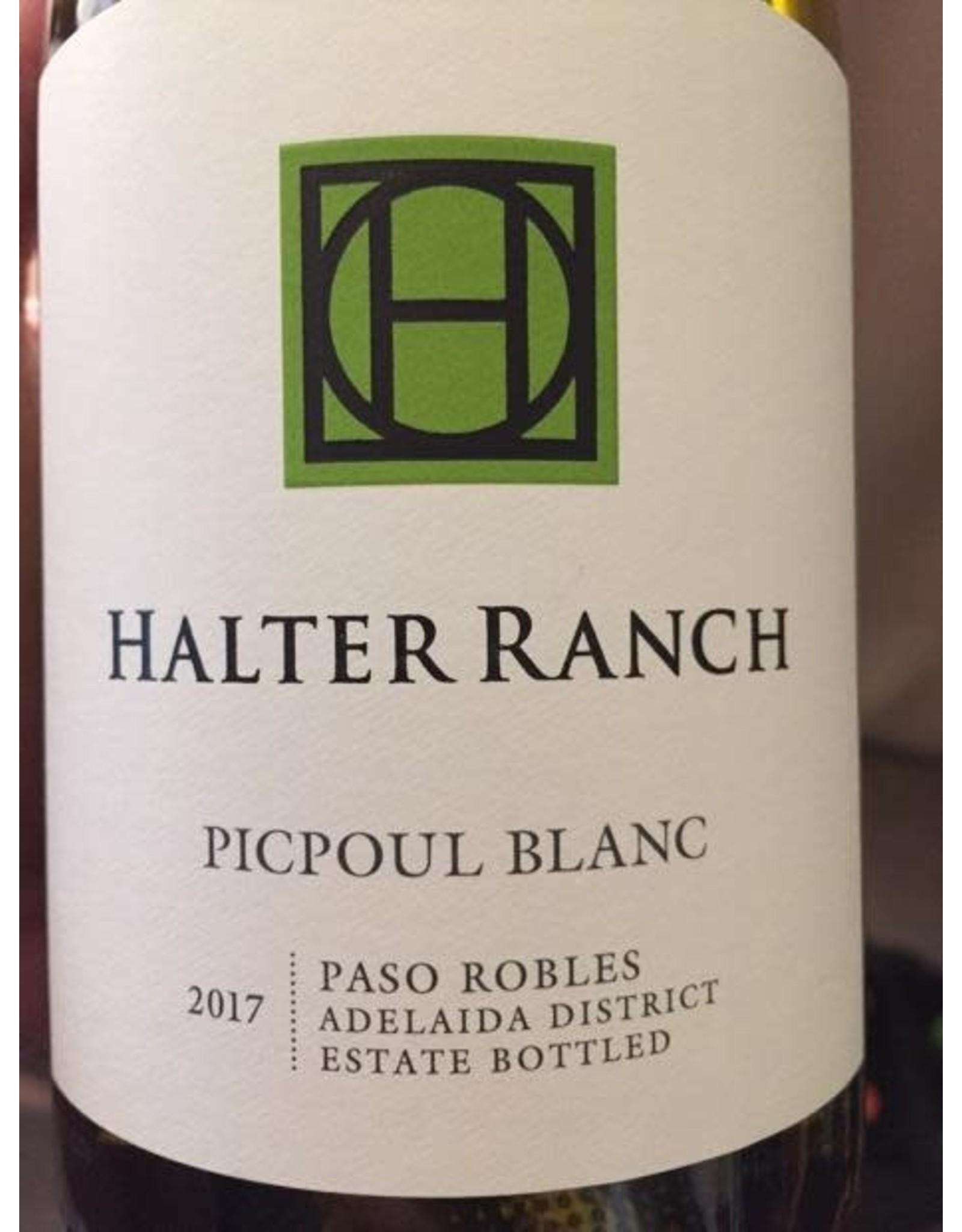 2017 Halter Ranch Picpoul Blanc
