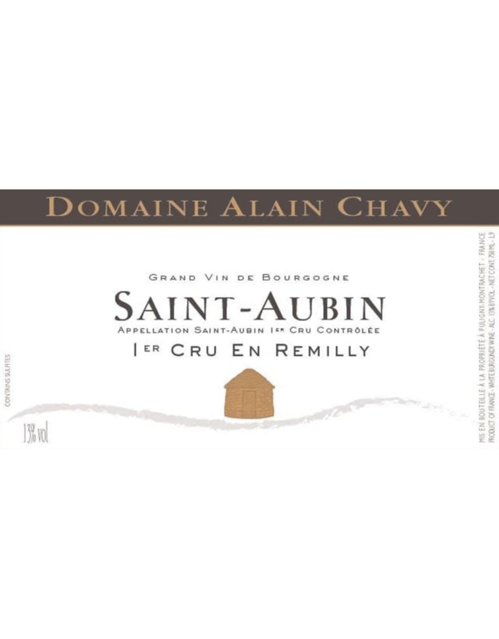 Alain Chavy en Remilly, St Aubin Premier Cru 2017