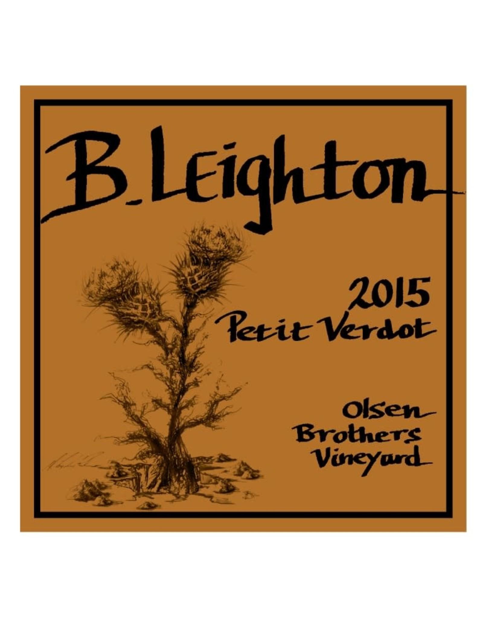 B Leighton Petit Verdot 2015