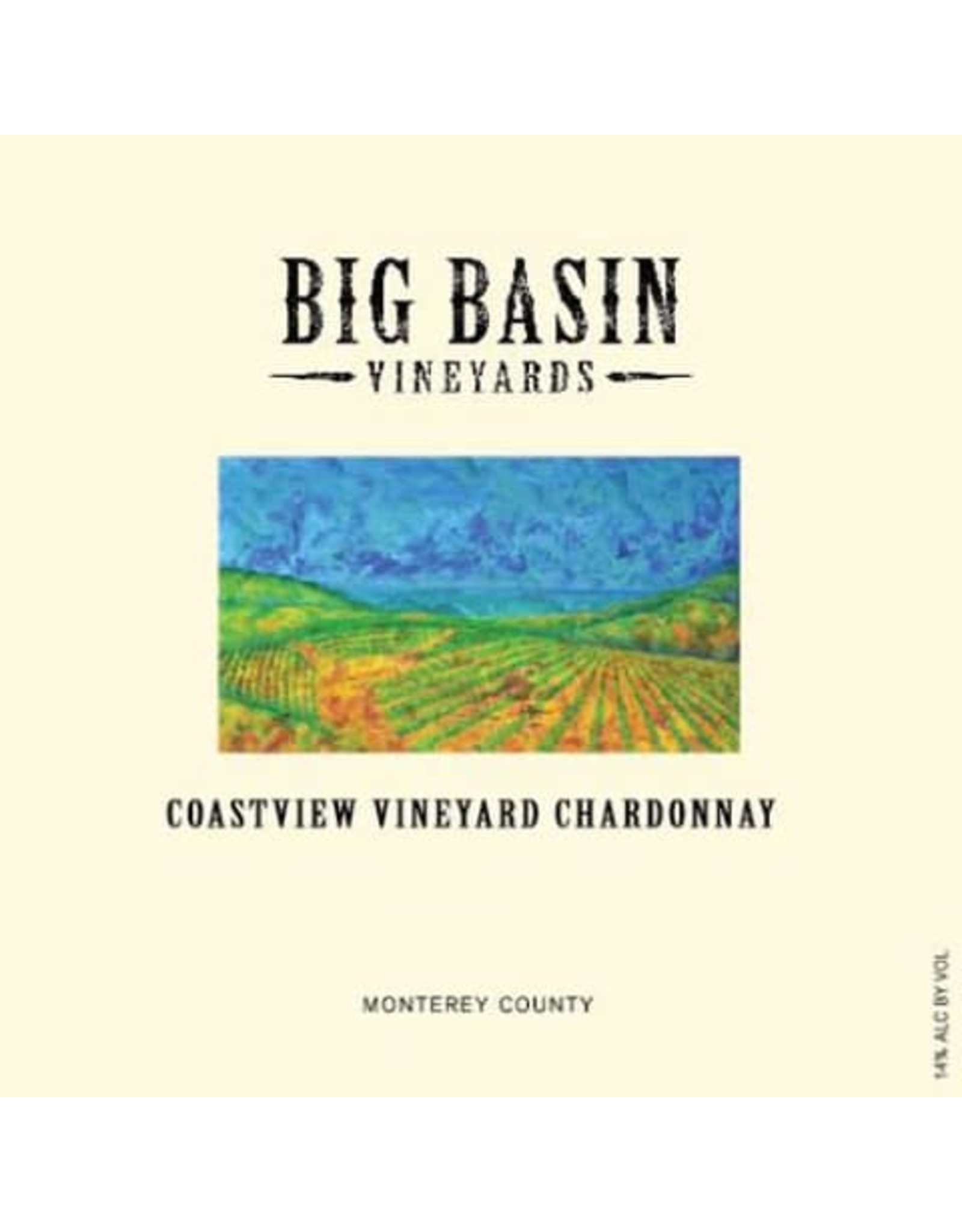 Big Basin Vineyards Monterey Chardonnay 2014