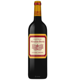 Chateau Moulin-Borie Listrac-Medoc 2015