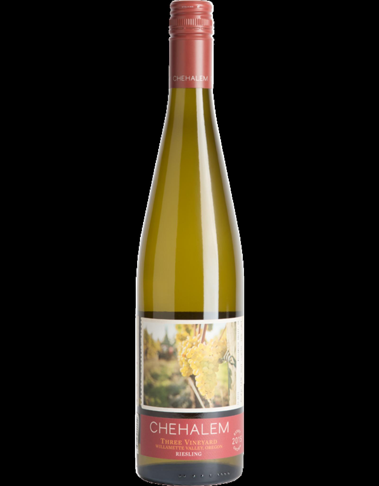 Chehalem Three Vineyards Riesling 2015