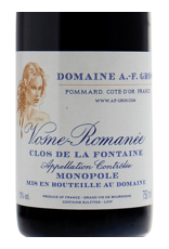 Domaine A.F. Gros Vosne-Romanee Clos de la Fontaine Monopole 2014