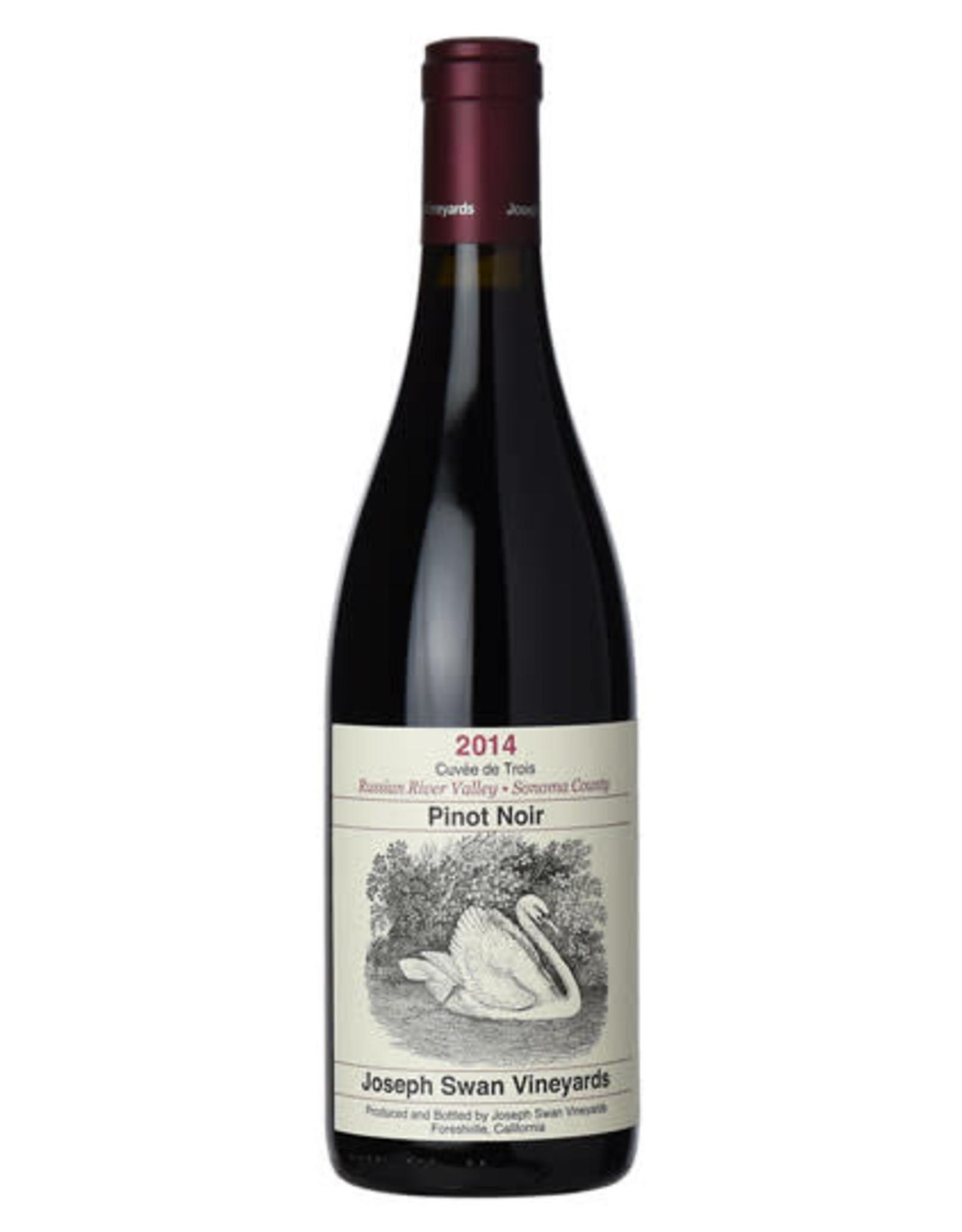 Joseph Swan Cuvee de Trois Pinot Noir 2014