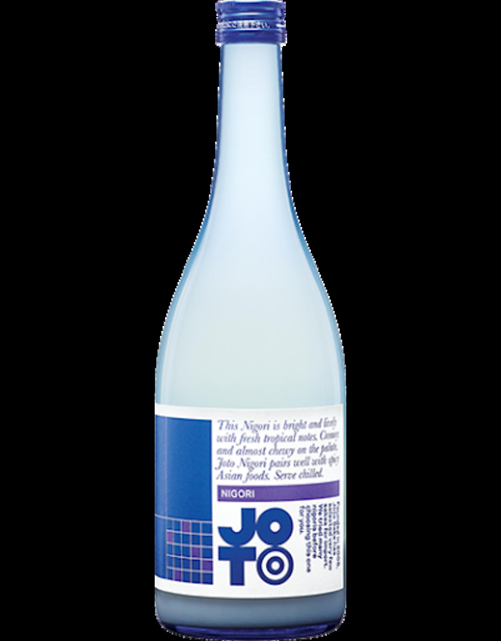 Joto Nigori Blue Sake