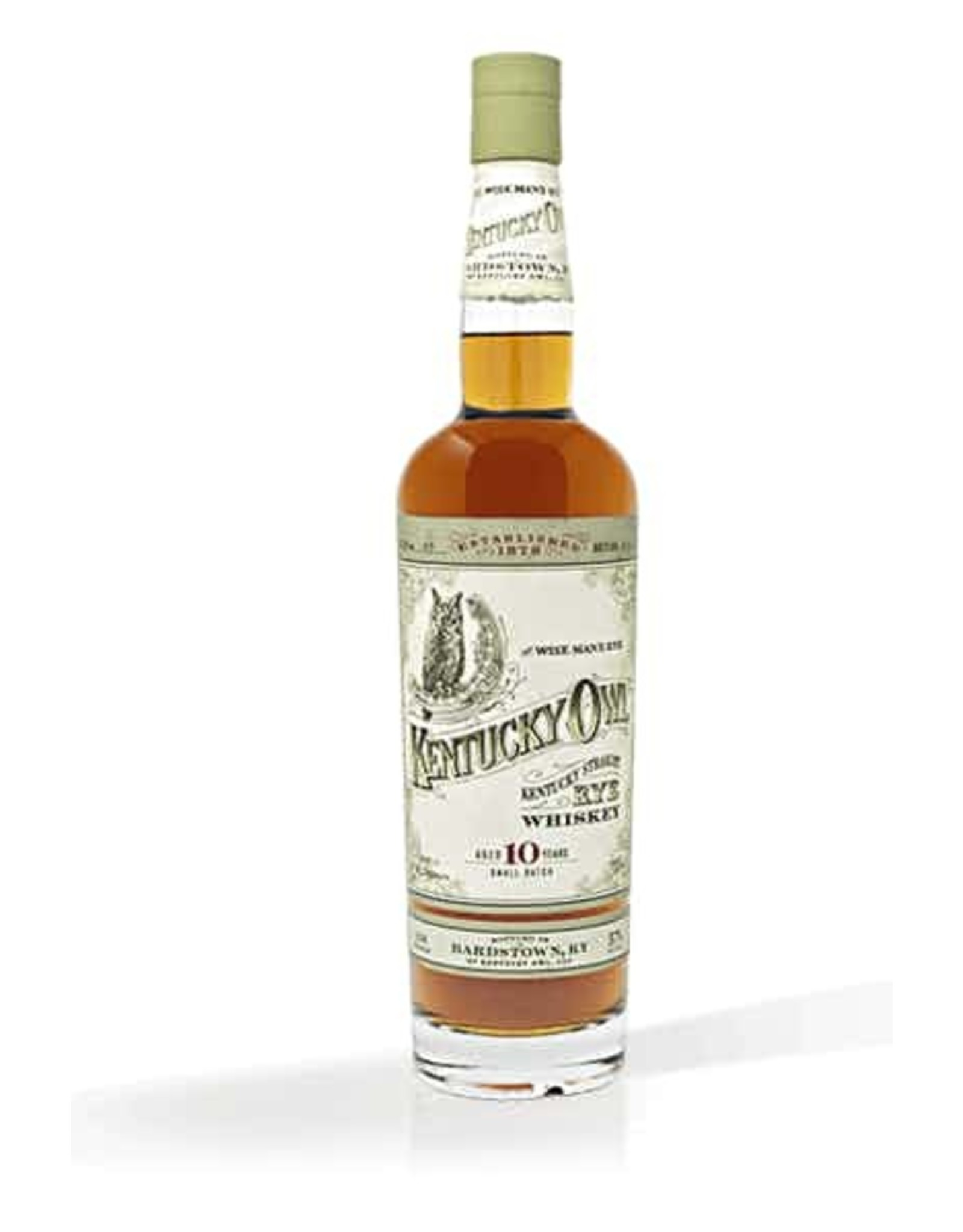 Kentucky Owl Batch #3 10 year old Rye Whiskey