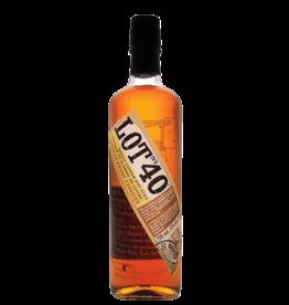 Lot 40 Whiskey