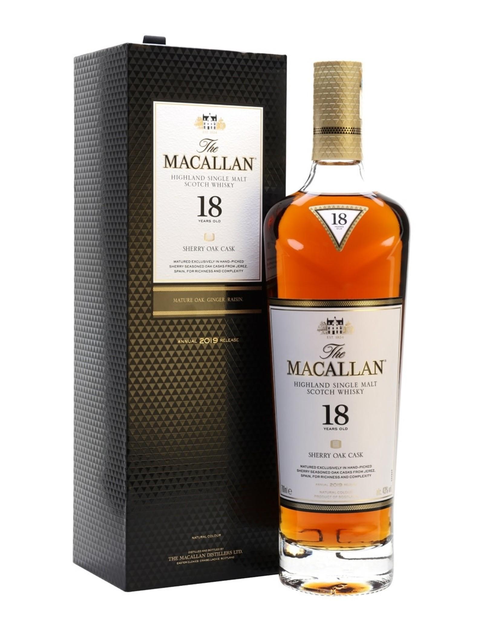 The Macallan 18YR Sherry Finish