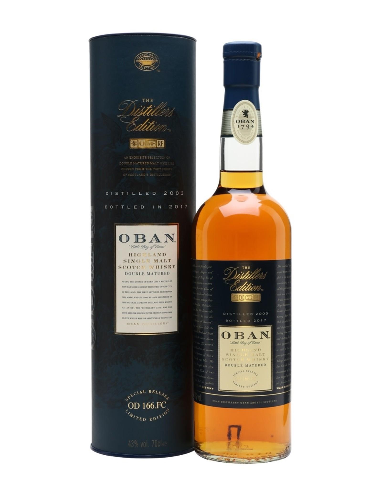 Oban Single Malt Distiller Edition