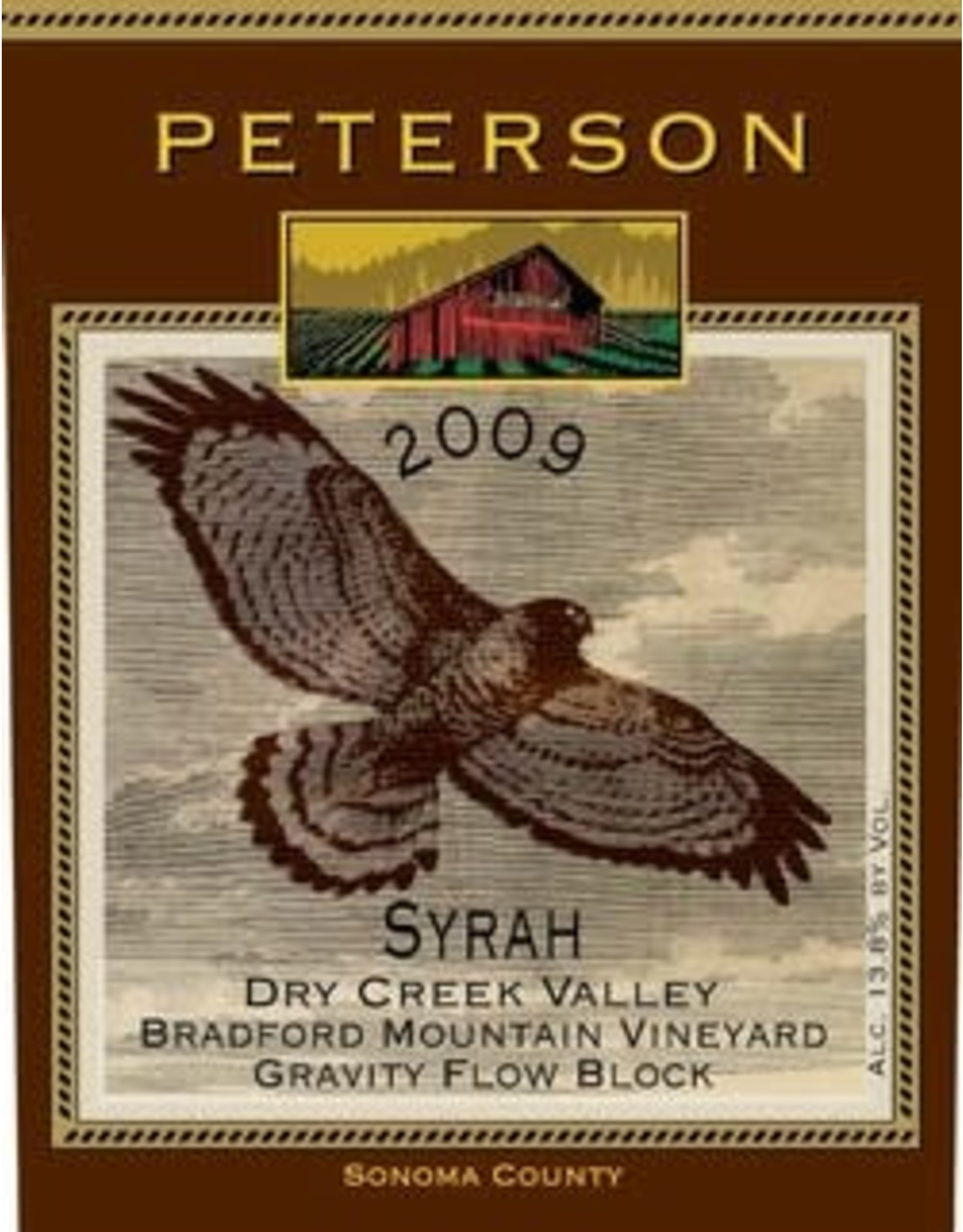 2009 Peterson Syrah Dry Creek