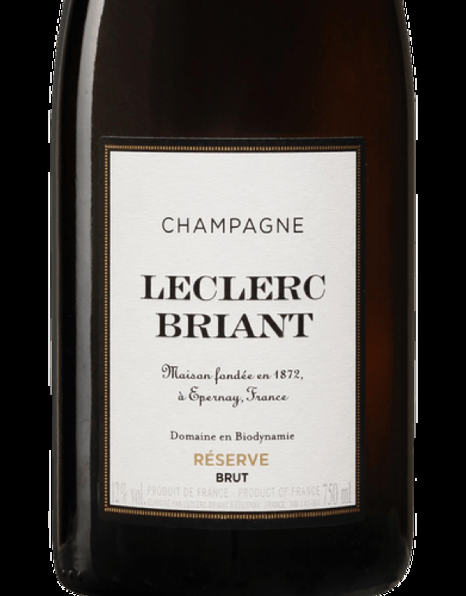 Champagne Leclerc Briant Brut Reserve