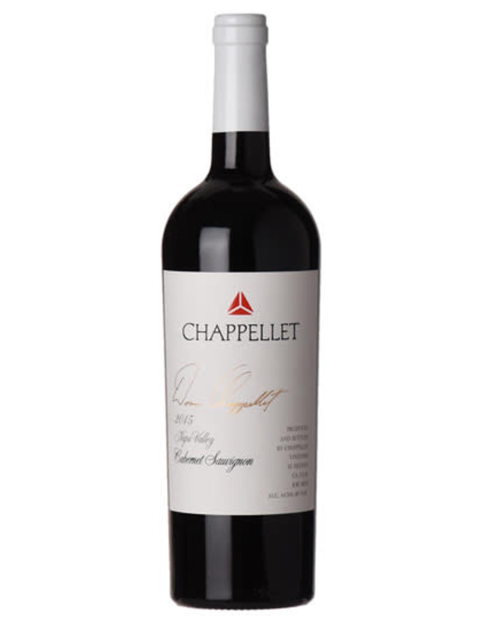 Chappellet, Signature Cabernet Sauvignon 2015