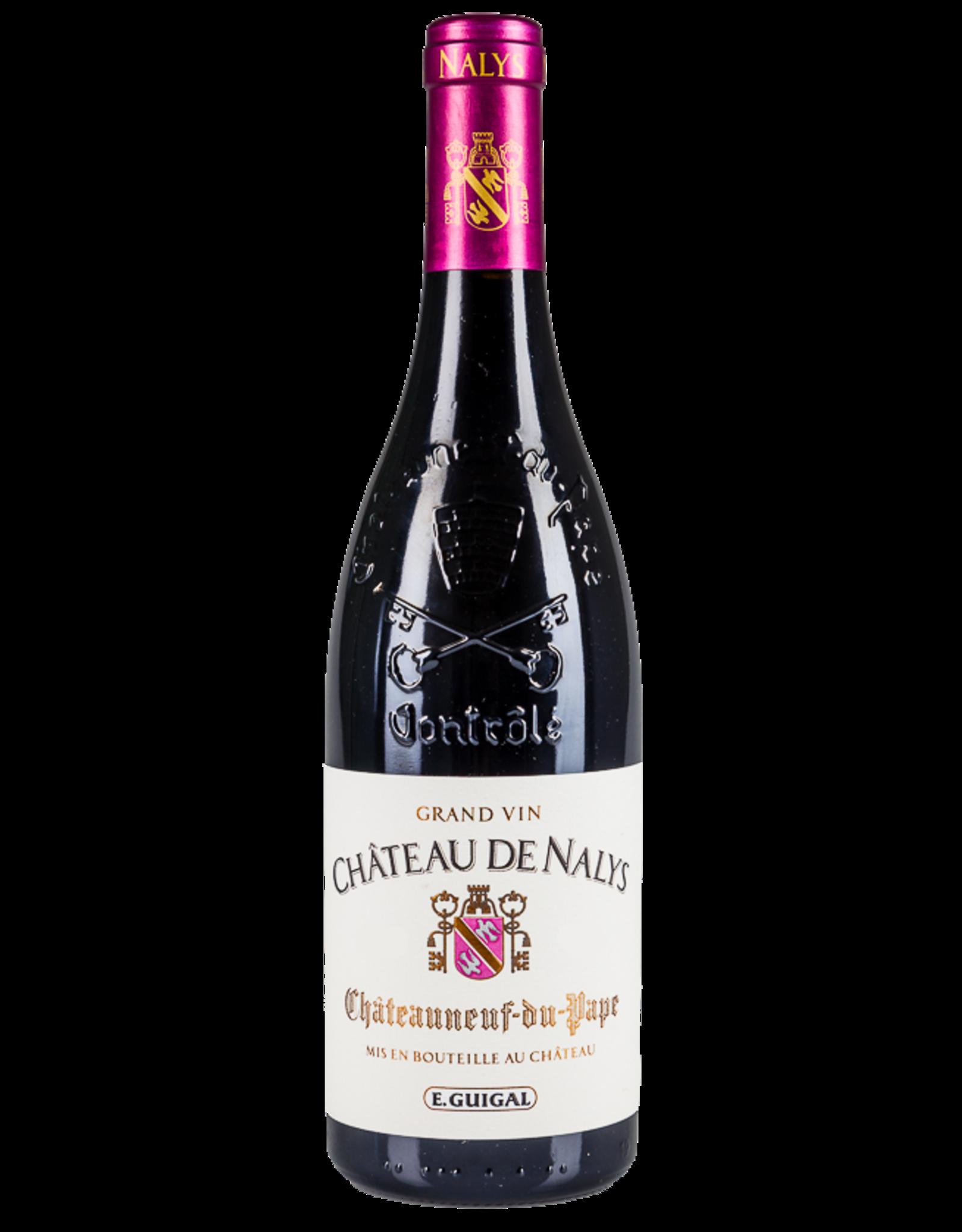 Chateau de Nalys Chateauneuf-du-Pape Grand Vin Rhone 2016