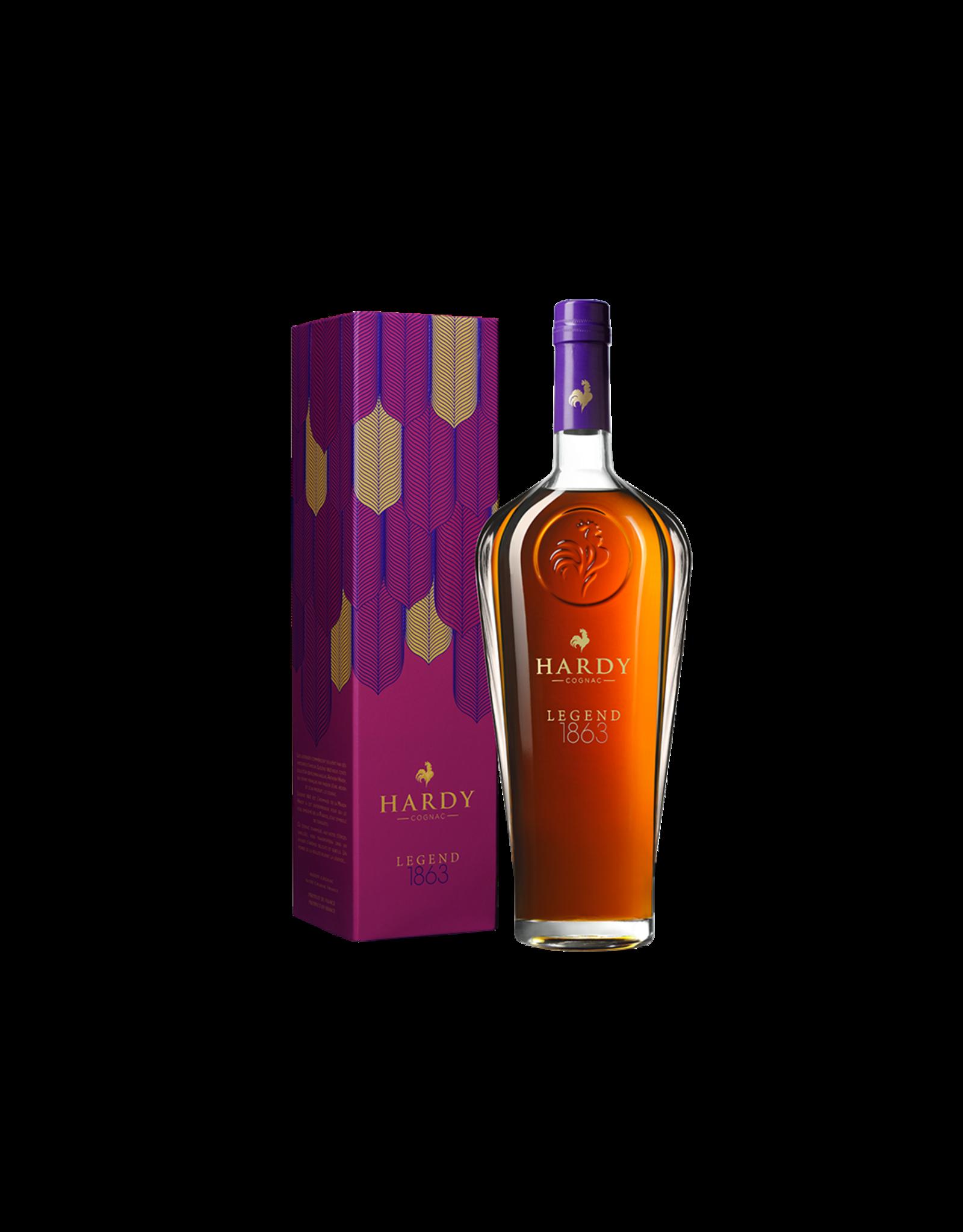 Hardy Cognac Legend 1863