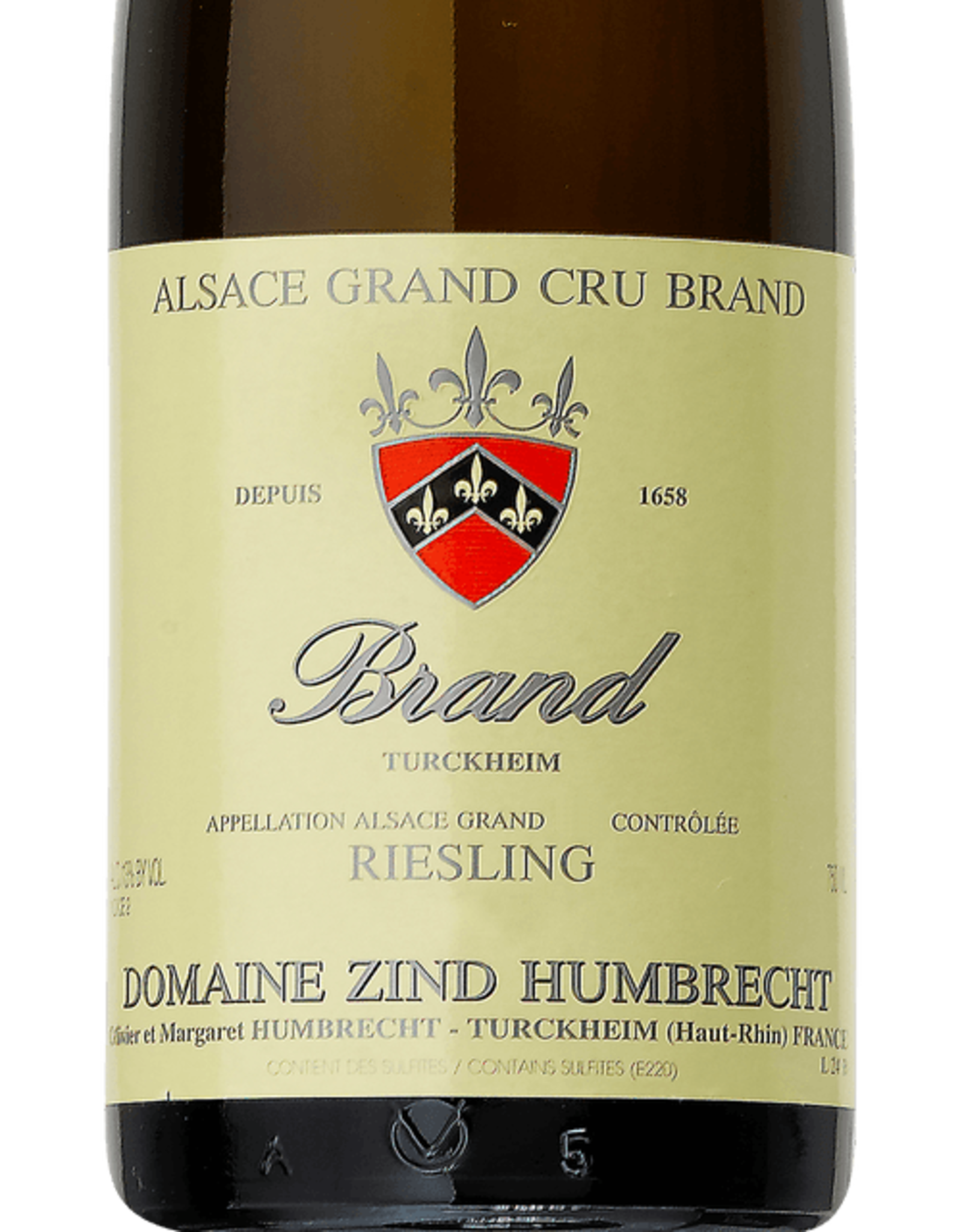 Domaine Zind-Humbrecht Brand Riesling 2017