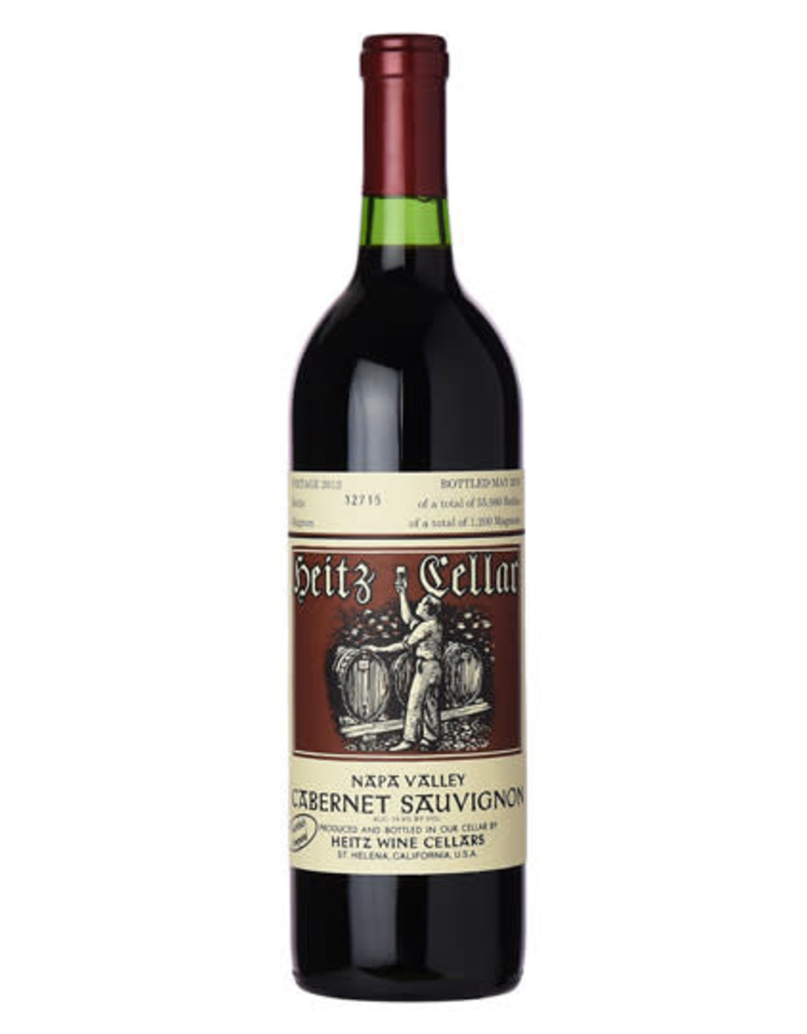 Heitz Cellars Martha's Vineyard, Cabernet Sauvignon, Napa Valley 2012